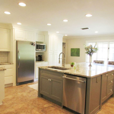 kitchen remodel-ellerbe rd
