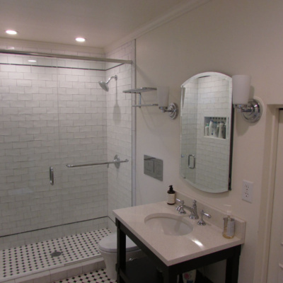 bathroom remodels- fairfield historic district